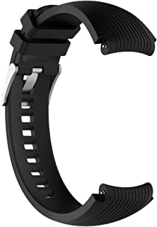 Sport Silicone Bracelet, Replacement Band, Size (22MM) for Samsung Galaxy Watch 46mm Gear S3, S4, Frontier, Galileo, Activ...