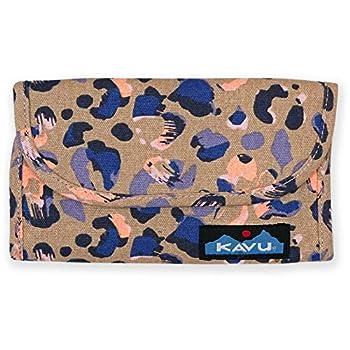 KAVU Zippy Wallet Bi Fold Zip Clutch With Removable Coin Pouch - Wild Spots
