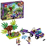 LEGO 41421 Friends Baby Elephant Jungle Rescue Play Set with Stephanie, Adventure Camp Series