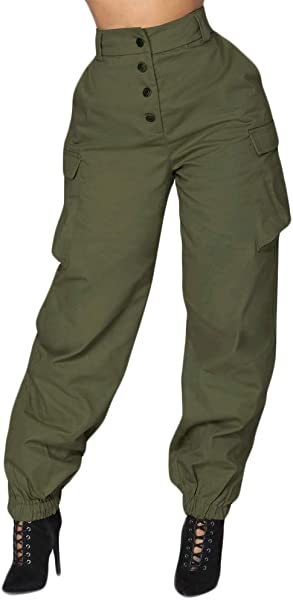 Women Cargo Pants Women Summer High Waist Pants Sports Trousers Leggings Trousers Pants For Cool Girls
