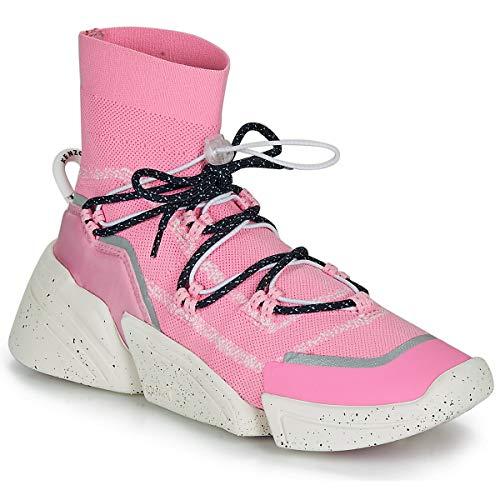 Kenzo K Sock Slip On Sneakers Donne Rosa - 40 - Sneakers Alte Shoes