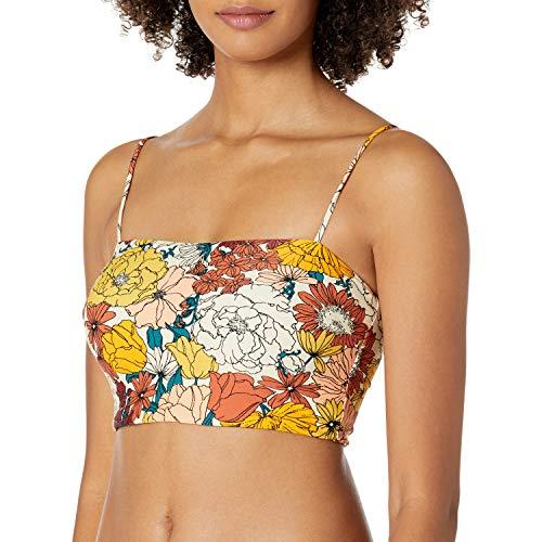 Rip Curl Junior's Bikini Top, Cream, M