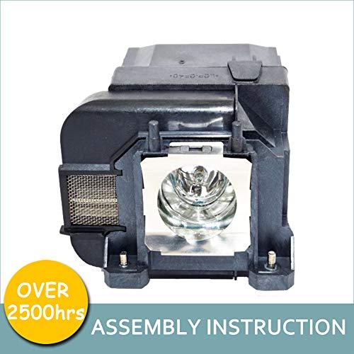 LOUTOC Projector Lamp Bulb V13H010L75 for Epson ELPLP75 Powerlite 1940W 1945W 1950 1955 1960 1965 EB-1940W EB-1945W EB-1950 EB-1955 EB-1960 EB-1965