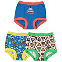 3-Pack Mattel Boys' Toddler Tank Engine Potty Training Pants