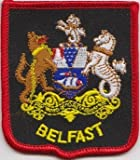 Embroidered Badge Patch 7cm x 6cm Approx' Sew on Posted FREE within UK