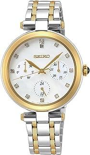 Seiko - Reloj para Mujer Analógico Cuarzo japonés con Correa de Acero Inoxidable SKY660P1