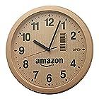 21日まで【タイムセール祭】【Amazon.co.jp限定】リズム時計 段ボール風掛け時計 4KG712CZ06が激安特価!