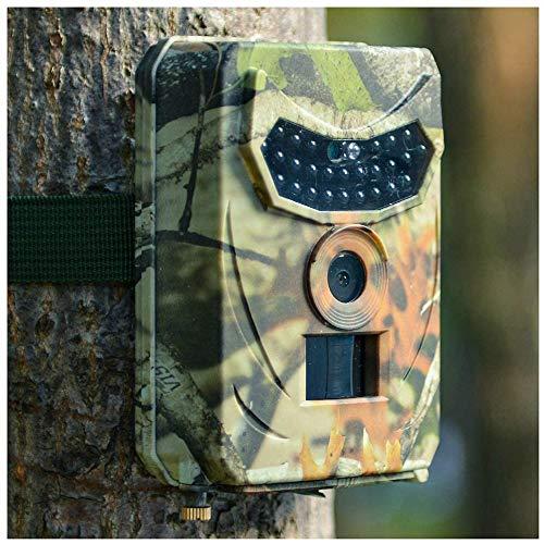 YUKM Camera De Sendero Juego 1080P 12MP con Detector De Movimiento Visión Nocturna IP56 A Prueba De Agua A Prueba De Agua para La Naturaleza Al Aire Libre, Jardín, Vigilancia De Seguridad En El Hogar