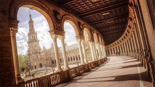 Rompecabezas De 1000Piezas De Rompecabezas Plaza De España Sevilla Pa