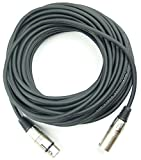 Adam Hall 3 Star Series - Cable de audio (conector XLR macho a conector hembra, 15 m)