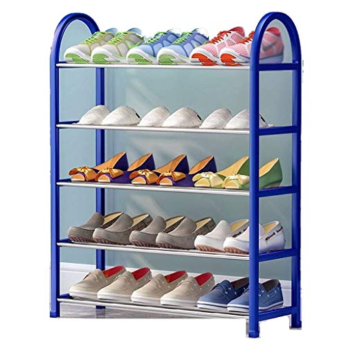 Diaod Zapato Estante, Simple Multi-Capa de Almacenamiento del hogar a Prueba de Polvo del Zapato Gabinete compartida Hierro Zapatero