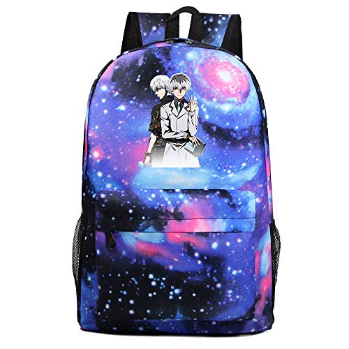 XYUANG Tokyo Ghoul Starry Sky Color Backpack Boy Girl Kindergarten Bag Children School Bags-A
