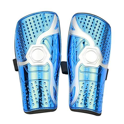 ASEOK Schienbeinschoner für Jugendliche, Fußball-Schienbeinschoner, 1 Paar, leicht und atmungsaktiv, (Stil-A BLAU)