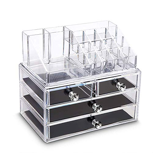 iPEGTOP Acrylic Clear Make Up Or...