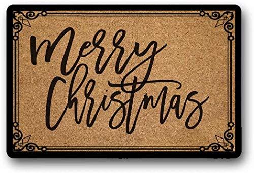 Solatman Felpudo Felpudo Feliz Navidad, 40 x 60 cm
