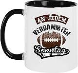 Ezyshirt® American Football Kaffeetassen | Football Kaffeebecher | Playoff