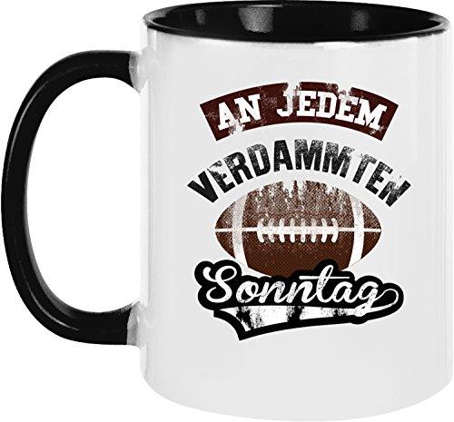 Ezyshirt® American Football Kaffeetassen   Football Kaffeebecher   Playoff