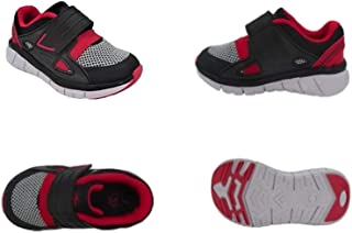 Toddler Boys' Lightweight Cage Sneaker Red and Black