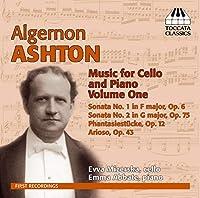 アルジャーノン・アシュトン:チェロとピアノのための作品全集 第1集