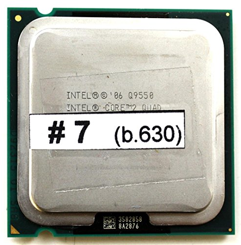 Intel Core 2 Quad Q9550 1.333GHz 12MB L2 Prozessor - Prozessoren (Intel® Core™2 Quad, 1,333 GHz, LGA 775 (Socket T), 45 nm, Q9550, 64-Bit)