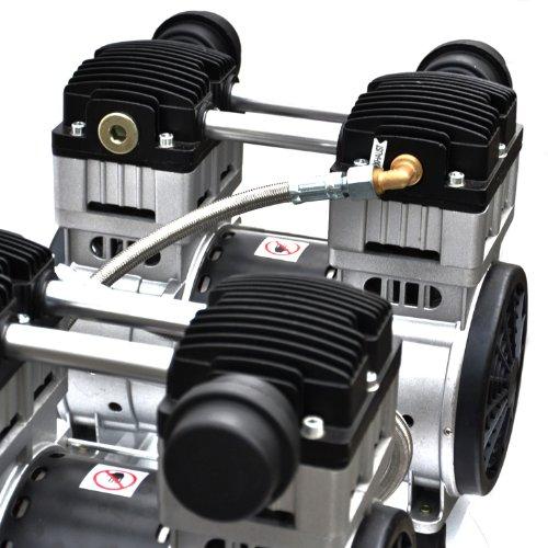 3000W 4PS Silent Flüsterkompressor Druckluftkompressor 65dB leise ölfrei flüster Kompressor Compressor IMPLOTEX - 9