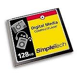 SimpleTech STI-CF/128 128MB CompactFlash Card