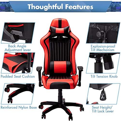 SLYPNOS Gaming Stuhl Racing Stuhl Bild 2*
