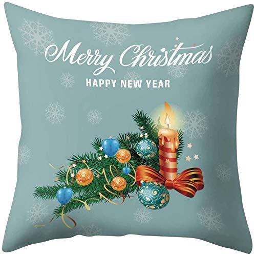Coussins de Noël Couvre Housse de canapé de Noël, Taies d oreiller décoratives, Taie d oreiller de Noël, Décorations de Noël Housses de Coussin, Housses de Coussin Joyeux Noël