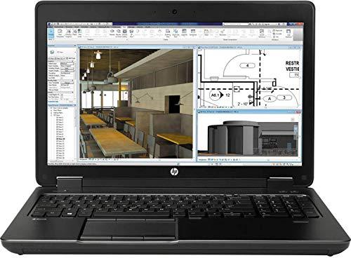 "HP ZBook 15 G2 FHD 15.6"" Mobile Workstation, Quad-Core i7 4810MQ Upto 3.8GHz, 16GB RAM, 512GB SSD, 2GB Nvidia Quadro K1100M, AC WiFi, BT 4.0, FP Reader, USB 3.0, Windows 10 Pro (Renewed)"