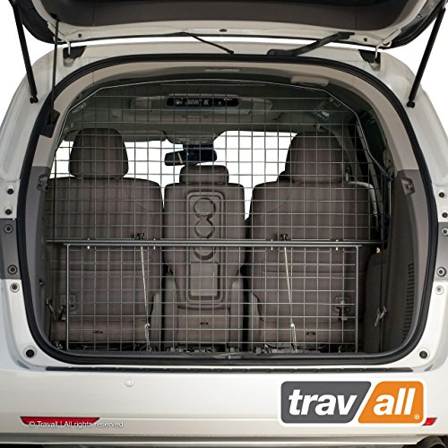 Travall Guard Plus Compatible with Honda Odyssey (2010-Current) TDG1573 - Rattle-Free Full Height Steel Vehicle Specific Pet Barrier