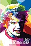 Ed sheeran: notebook, 100 lined pages, 6x9''