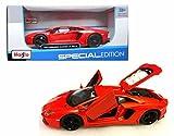 Maisto New 1:24 W/B Special Edition - Orange 2011 Lamborghini Aventador LP-700 Diecast Model Car
