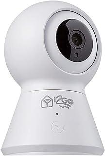 Câmera Inteligente 360º Wi-Fi, I2go, Home - Compatível com Alexa, Branco