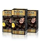 Syoss Oleo Intense - Tono 4-50 Castaño Ceniza (Pack de 3) �