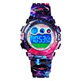 CKE Kids Watch for Boys Girls, Waterproof Sports Digital Watches for Kids with Colorful LED Light - Best Gifts for Children (Universe)