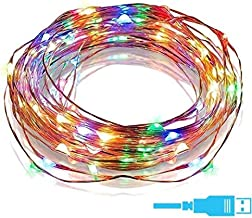 HASTHIP® Led String Light| 3M 30 Copper| USB Operated Wire |Decorative Fairy Lights for Birthday Home Docor in Diwali Christmas Festivalï¼?Multi Colourï¼?