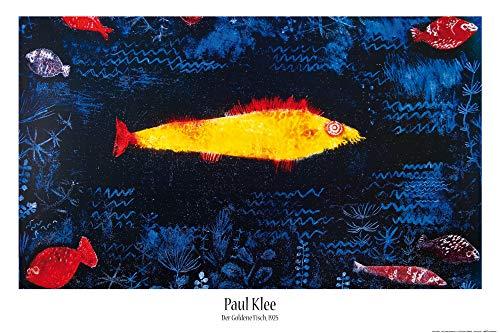 1art1 Paul Klee - Der Goldene Fisch, 1925 Poster 91 x 61 cm