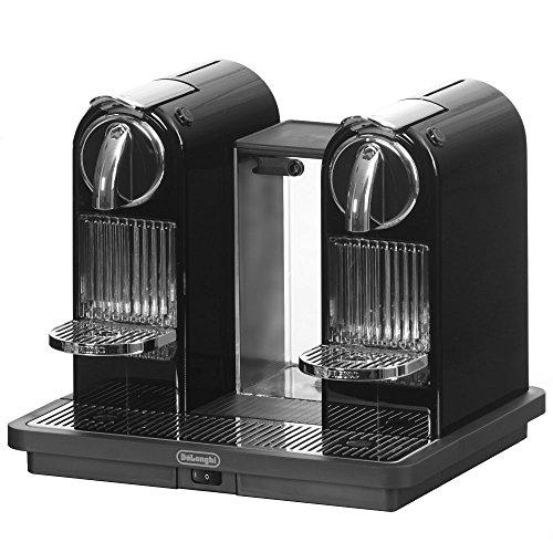 DeLonghi EN 325 B Nespressosystem Citiz 19 bar Flow Stop mit zwei separat regelbaren Ausläufen als Tower, black
