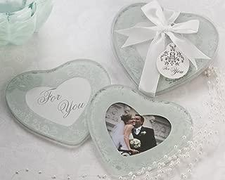 Artisano Designs Heartfelt Memories Frosted Heart Photo Coaster Keepsake