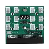 Nicoone Placa de Ruptura de 6 Pines 1600 W con Pantalla de Voltaje de Tecla de Sincronización de Energía para Minería HP DPS- 1200Fb a PSU Gpu
