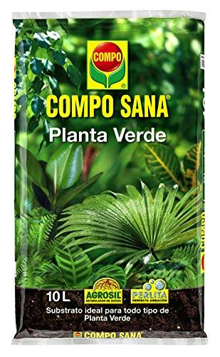 Compo Sana Planta Verde 10 L, 44x27x5.5 cm