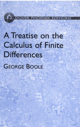 A Treatise on the Calculus of Finite Differences (Dover Books on Mathematics) (English Edition)