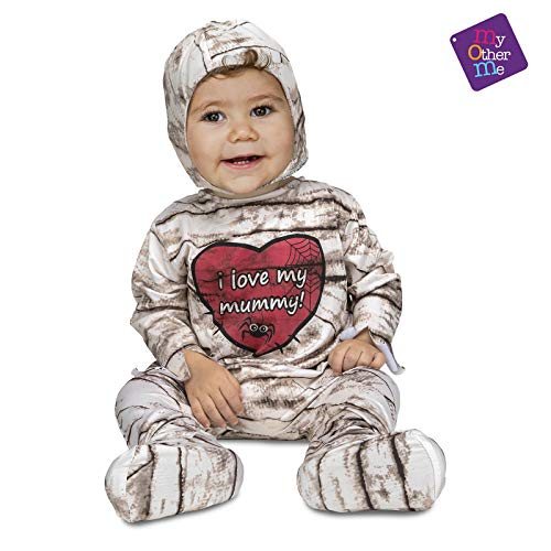 My Other Me Me Me - Halloween Momia Disfraz, multicolor, 0-6 meses (205178)