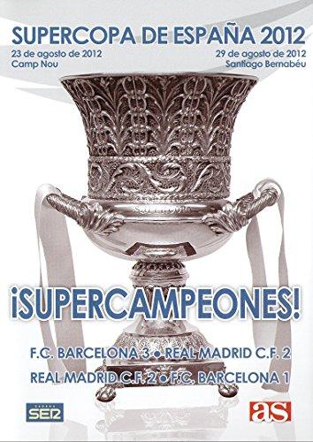 SUPERCOPA DE ESPAÑA 2012 FC Barcelona - Real Madrid DVD