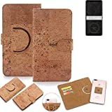 K-S-Trade® 360° Cover Cork Case For HTC Exodus 1 |