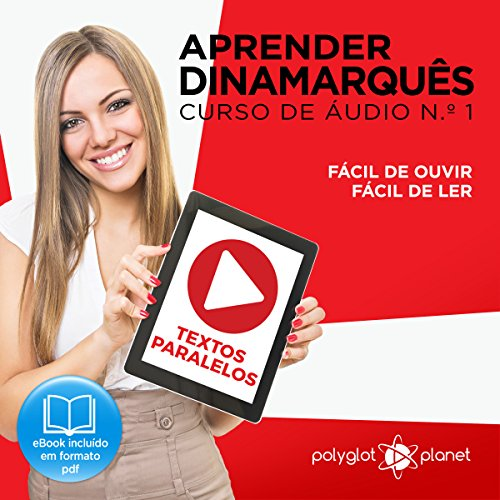 Aprender Dinamarquês: Curso de Áudio de Dinamarquês, No. 1 [Learn Danish: Danish Audio Course, No. 1] cover art