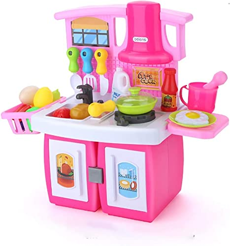 Spielzeugsets Küche Spielen Kochset Küche Eingerichtet Küchenspielsets Gehirnspiel Kombinationsspielzeug Küche Spielset Spielzeug über 3 Jahre Alt Geschenk Für Kinder Spielzeugsets