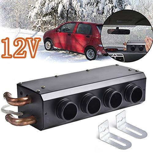 yummyfood Auto Heizlüfter Car Heater Auto Heizung 12V Klein Kfz Zusatzheizung Für Auto Start, Demister Abtauen Defogger, 33x12.5x8cm