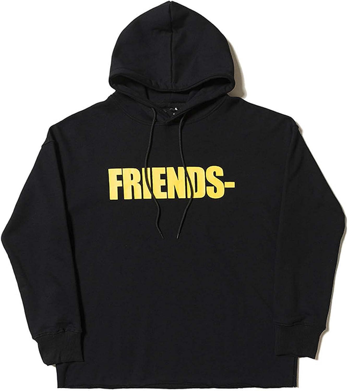 Vlone Friends Hoodies Big V Classic hoodie Fashion Trend Hooded Sweatshirt Long Sleeve Casual Woman Man Couple Sweater