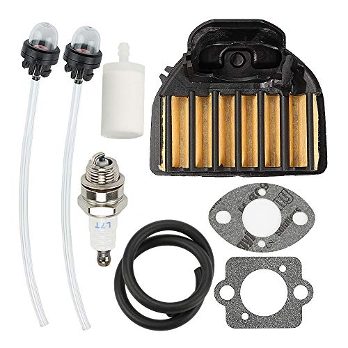 Powtol 537255701 Air Filter with Tune Up Kit for 455E 455 Rancher 460 461 Gas Chainsaw 537255702